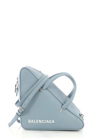 Balenciaga Triangle Duffle S Bleu Gris