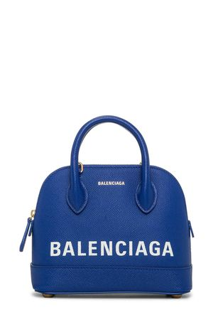 Balenciaga Ville Top Handle XXS Bleu Roi