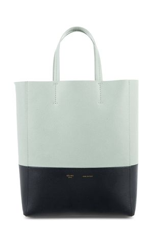 Celine Small Vertical Cabas Tote Mint Evergreen