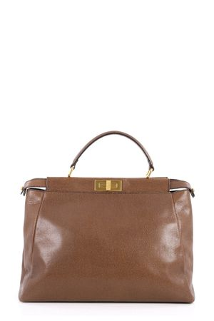 Fendi Large Peekaboo Brown Spots