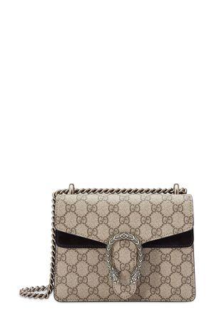 Gucci Dionysus GG Supreme Mini Bag Black