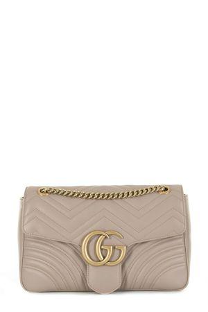 Gucci GG Marmont Medium Matelasse Shoulder Bag Dusty Pink