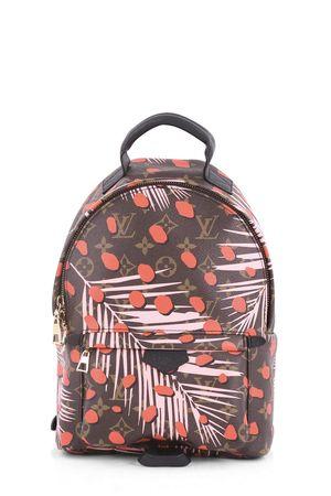 Louis Vuitton Monogram Jungle Dots Palm Springs Backpack PM Brown